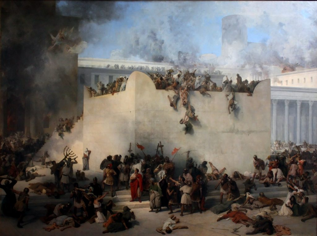 Jerusalem 70 AD: Not One Stone Left upon Another